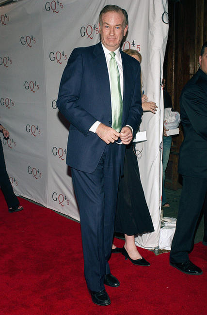 Bill O'Reilly at the GQ Magazine's 45th Anniversary Extravaganza in New York.