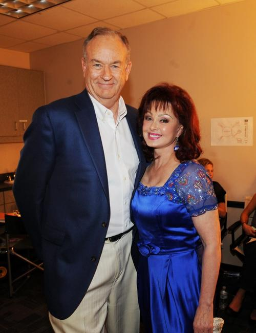 Bill O'Reilly and Naomi Judd at the 2009 CMT Music Awards.
