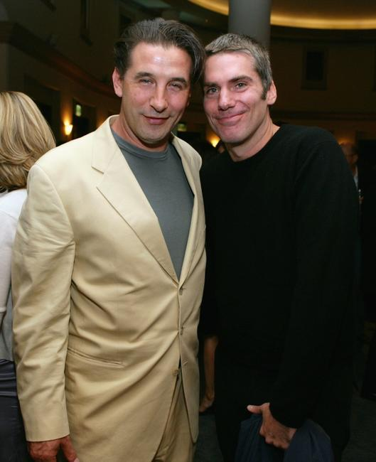 William Baldwin and Glenn Fitzgerald at the after party for the premiere of