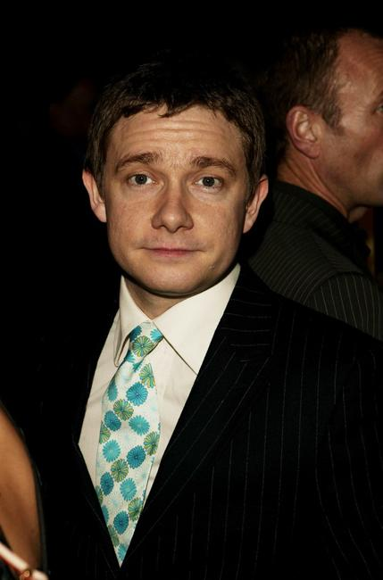 Martin Freeman at the London premiere of