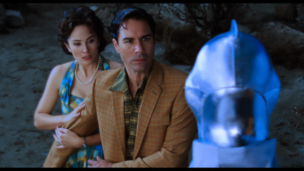 Jody Thompson as Lana, Eric McCormack as Ted Lewis and Urp in
