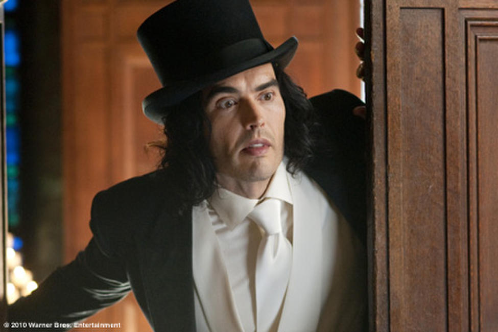 Russell Brand as Arthur in ``Arthur.''