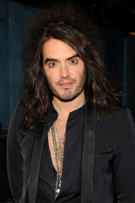 Russell Brand at the MTVs Total Request Live.