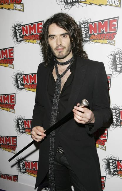 Russell Brand at the Shockwaves NME Awards 2006.