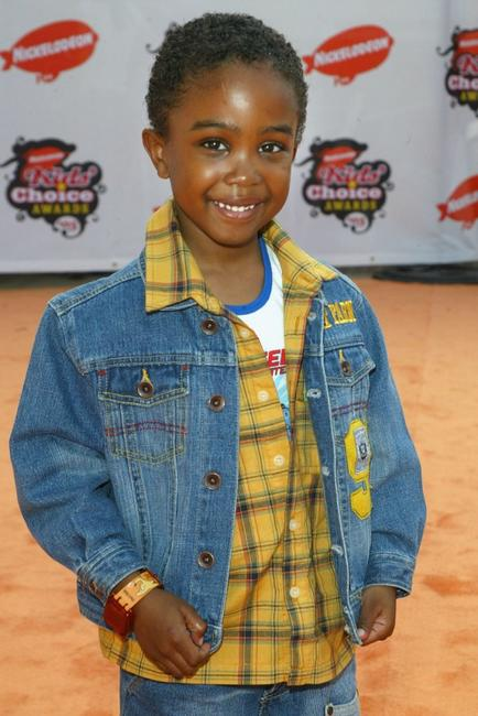 Khamani Griffin at the 18th Annual Kids Choice Awards.