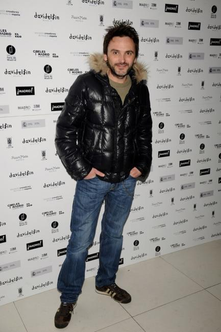 Fernando Tejero at the David Delfin party.