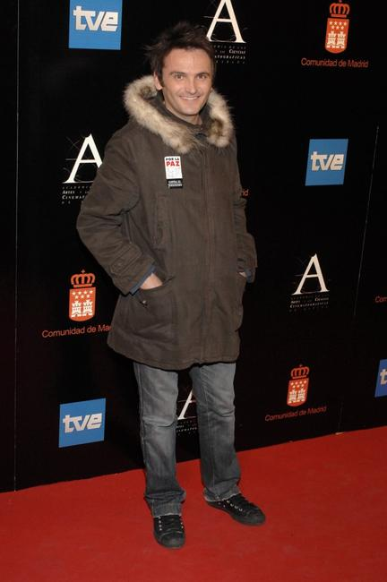 Fernando Tejero at the Goya Cinema Awards ceremony.