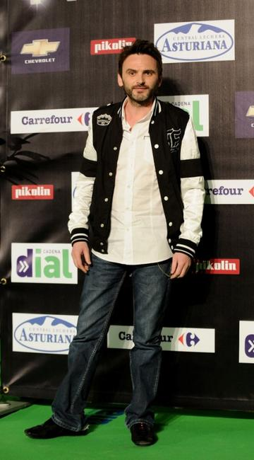 Fernando Tejero at the Cadena Dial Music Awards 2008.