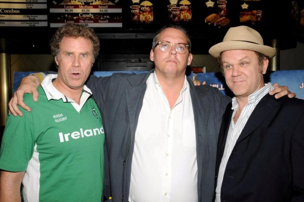Will Ferrell, Adam McKay and John C. Reilly at the special screening of