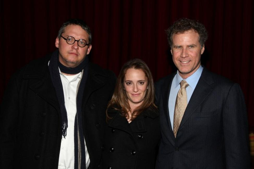 Adam McKay, Jessica Elbaum and Will Ferrell at the after party of the opening night of