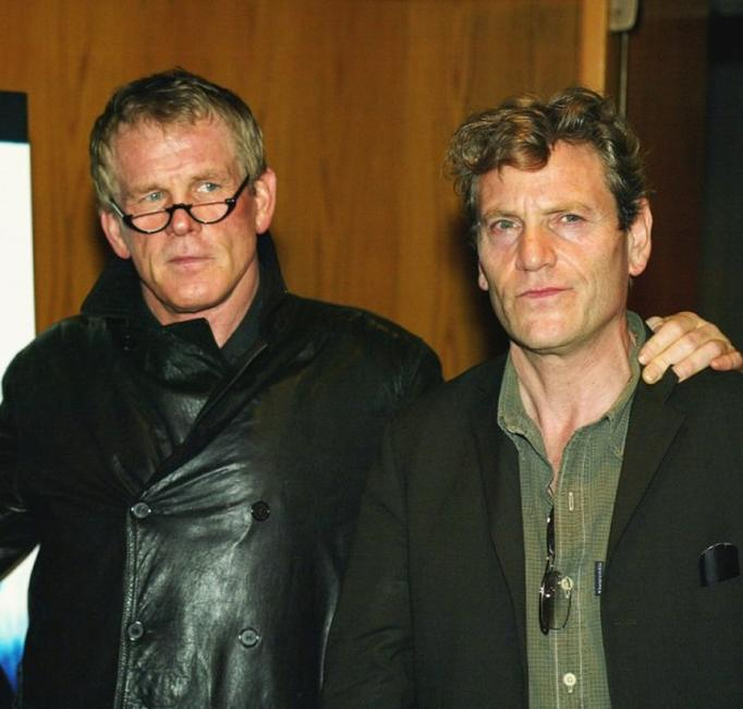 Nick Nolte and Tcheky Karyo at the premiere of