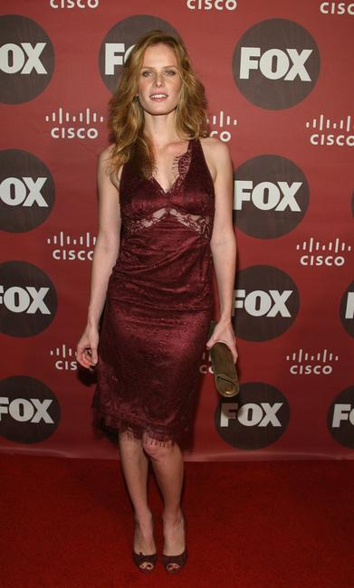 Rebecca Mader at the Fox Fall Eco-Casino Party.
