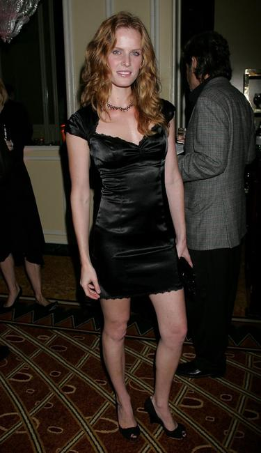 Rebecca Mader at the Museum of Television and Radio's annual Los Angeles gala.