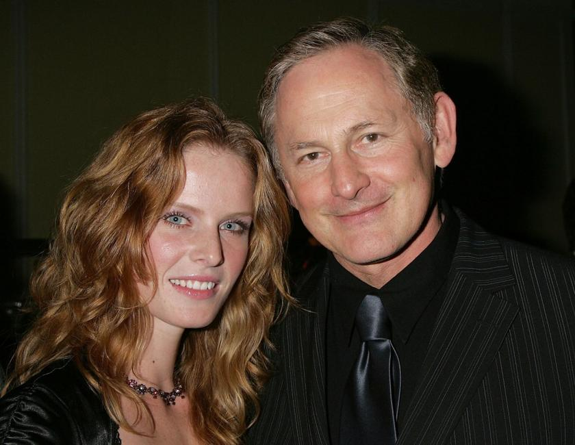 Rebecca Mader and Victor Garber at the Museum of Television and Radio's annual Los Angeles gala.