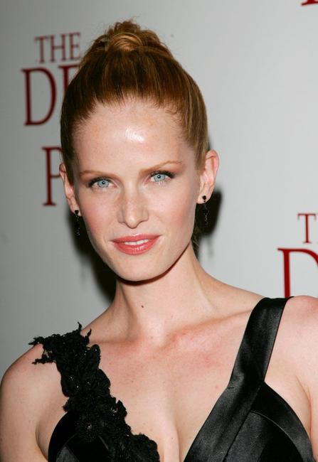 Rebecca Mader at the premiere of