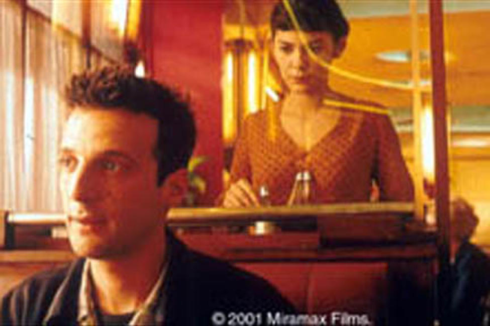 Audrey Tautou and Mathieu Kassovitz in Jean-Pierre Jeunet's
