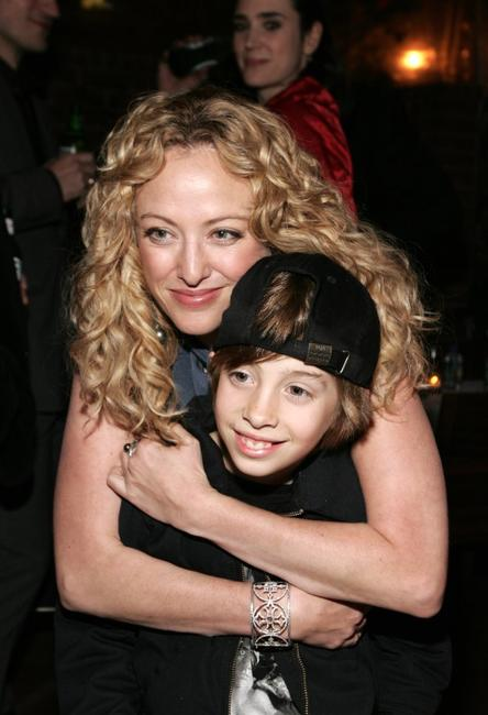 Virginia Madsen and Jimmy Bennett at the after party of the premiere of