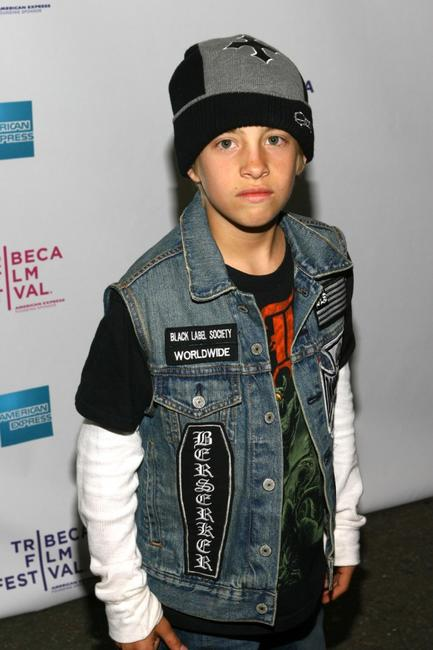 Jimmy Bennett at the premiere of
