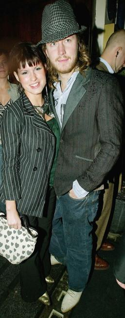 Jemima Rooper and her Friend at the 25th anniversary and book launch party for cult adult comic, Viz Magazine.