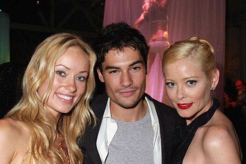 Olivia Wilde, D.J. Cotrona and Pamela Gidley at the premiere of