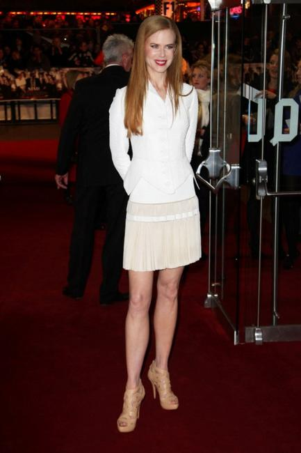 Nicole Kidman at the world premiere of