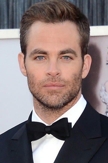 Chris Pine at the 85th Annual Academy Awards in Hollywood.