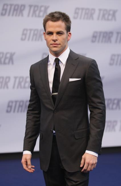 Chris Pine at the Germany premiere of