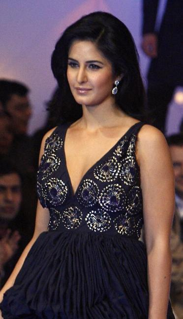 Katrina Kaif at the grand finale of Wills Lifestyle India Fashion Week (WIFW).