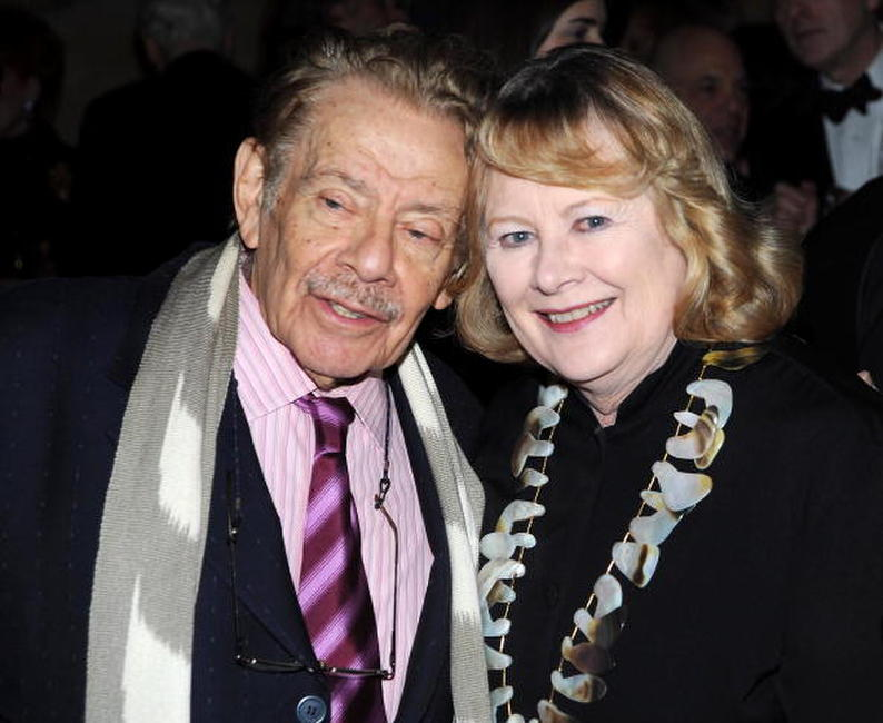 Shirley Knight and Jerry Stiller at the Academy of Motion Picture Arts and Sciences official Oscar Celebration.