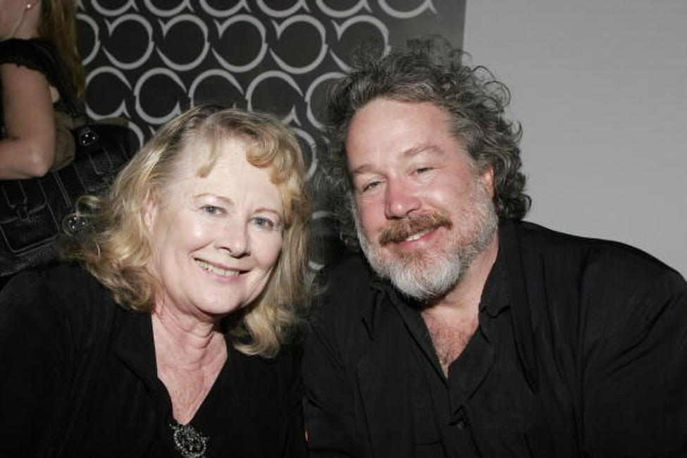 Shirley Knight and Tom Hulce at the opening night after party of