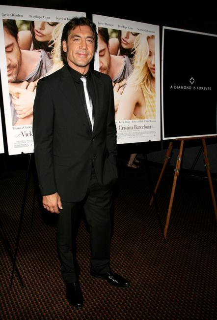 Javier Bardem at the screening of