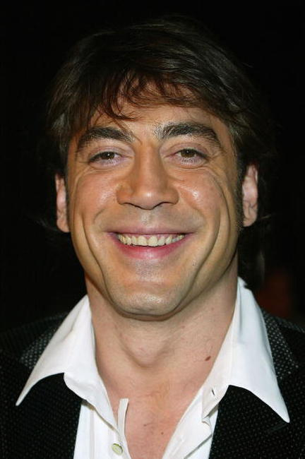 "Javier Bardem at the film premiere of ""The Sea Inside"" in Hollywood."