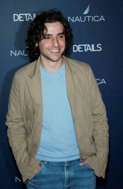 David Krumholtz at the Details Magazine & Nautica Next Big Thing Party.