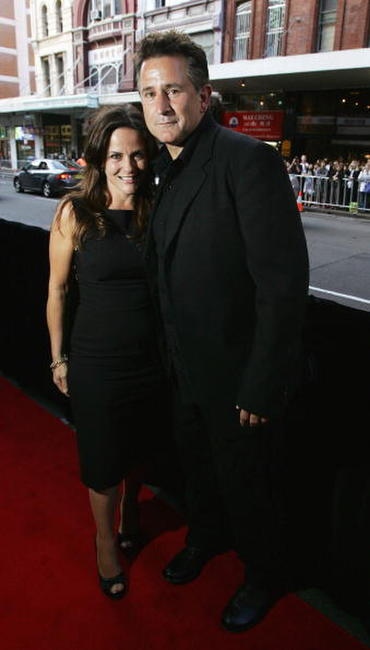 Anthony LaPaglia and his wife Gia Carides at the Sydney premiere of
