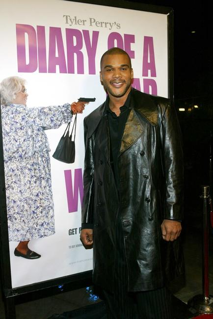 Tyler Perry at the premiere of