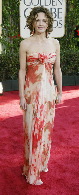 Diane Lane at the 61st Annual Golden Globe Awards in Beverly Hills.