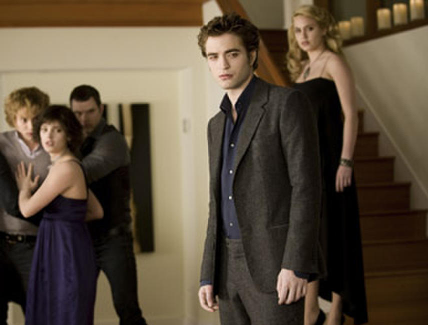 Jackson Rathbone, Ashley Greene, Kellan Lutz and Robert Pattinson in