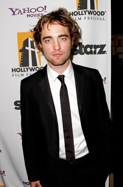 Robert Pattinson at the Hollywood Film Festivals Gala Ceremony.