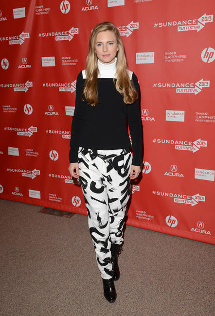 Brit Marling at the Utah premiere of