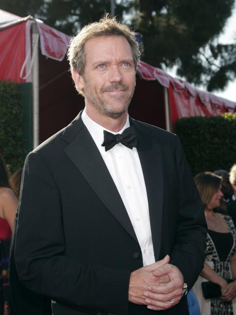 Hugh Laurie at the 59th Annual Primetime Emmy Awards.