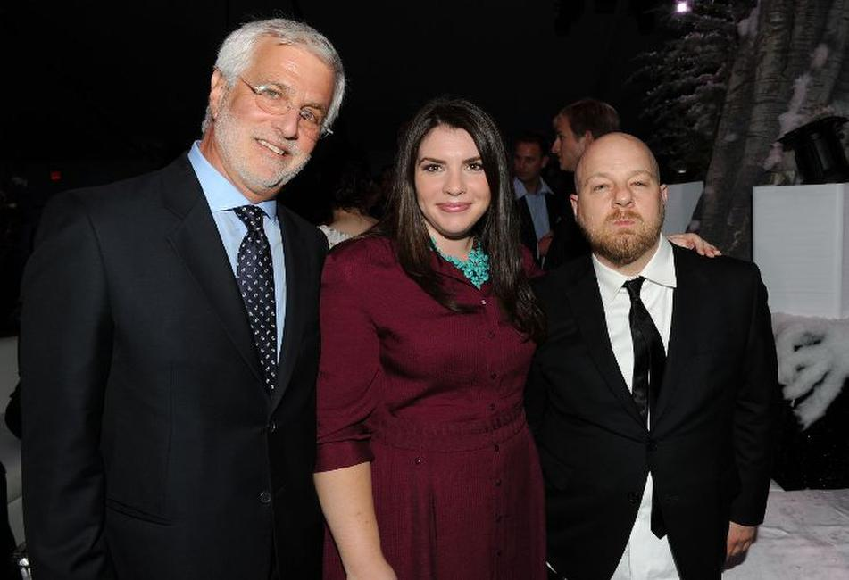 Rob Friedman, Stephanie Meyer and David Slade at the after party of the premiere of