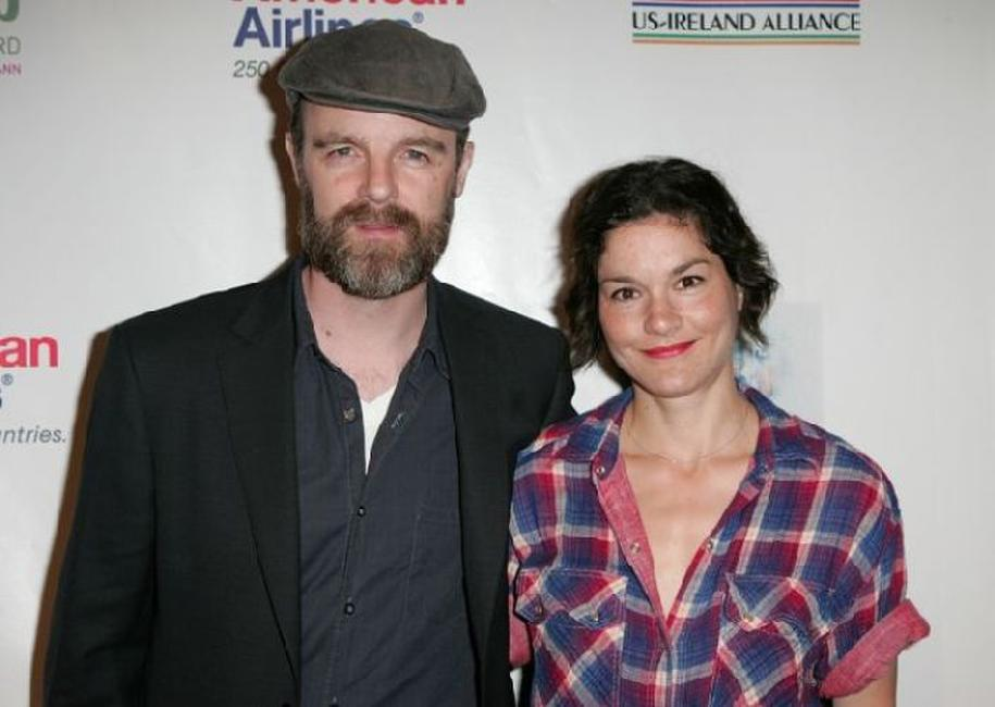 Brian F. O'Byrne and Heather Goldenhersh at the 5th Annual Oscar Wilde: Honoring The Irish In Film.