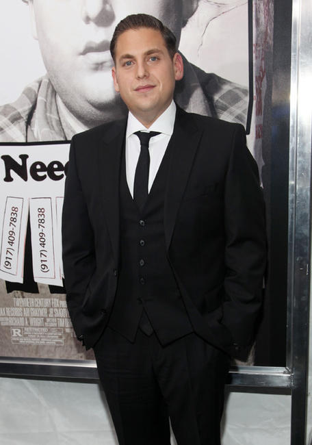 Jonah Hill at the New York premiere of