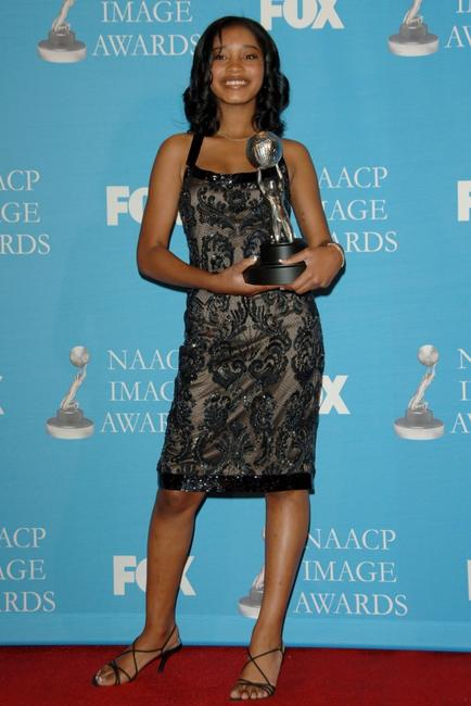 Keke Palmer at the 38th annual NAACP Image Awards.