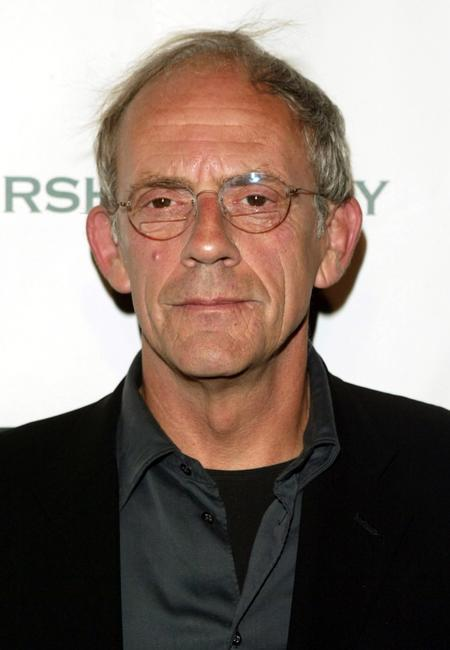 Christopher Lloyd at the Gersh Agency and Gotham Magazine party.