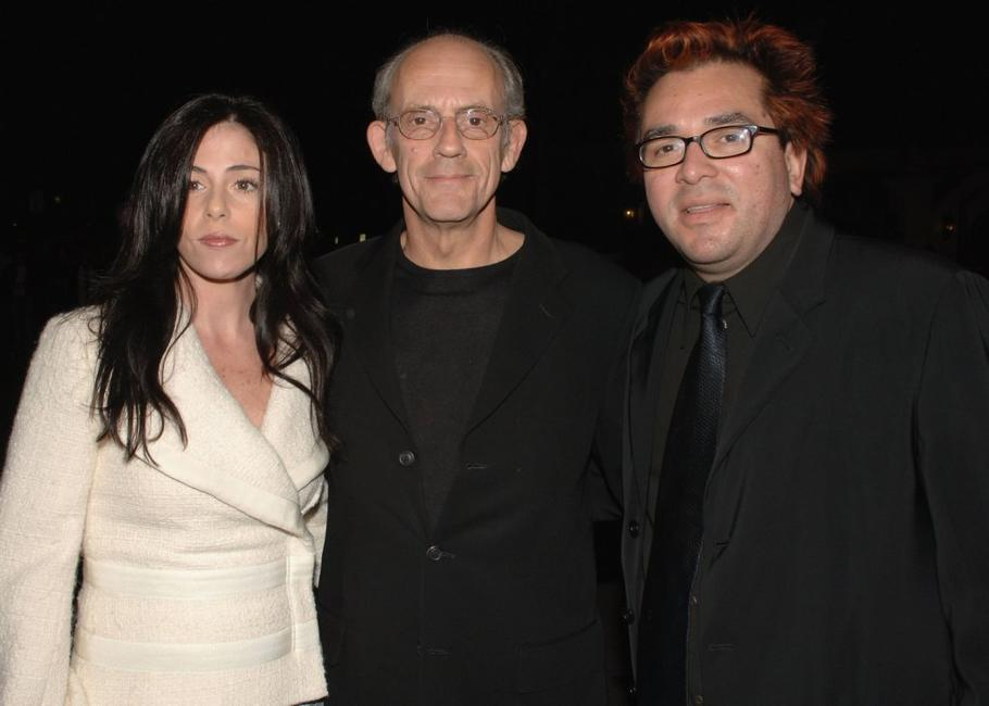 Jane Walker Wood, Christopher Lloyd and Roger Durling at the SBIFF Modern Master Award honoring George Clooney.