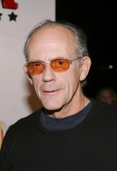 Christopher Lloyd at the Hollywood premiere of