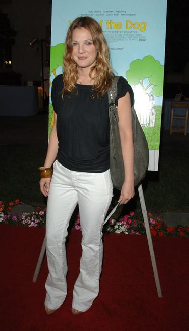 Drew Barrymore at the LA premiere of