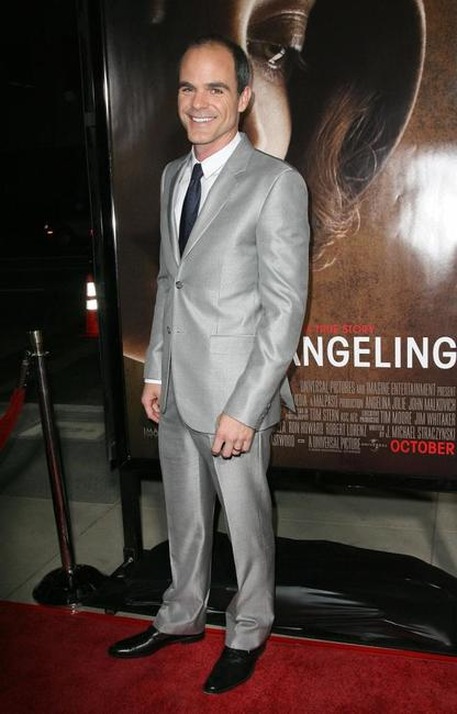 Michael Kelly at the premiere of