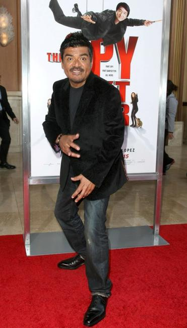 George Lopez at the California premiere of
